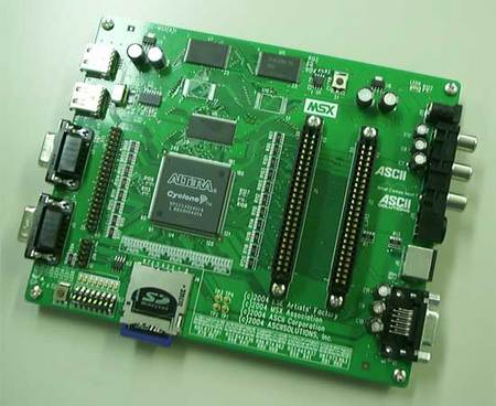 1チップMSX試作機